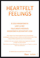 Heartfelt Feelings Couverture 2 by KrasnyZmeya