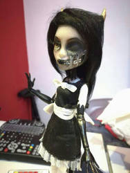 Alice Angel Doll Repaint (close up) by GothamGirlDC