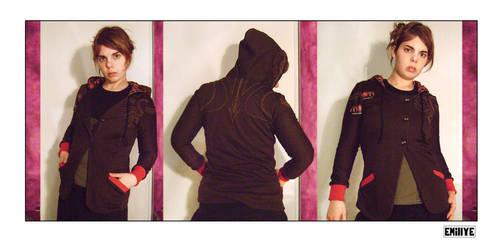 Veste tricot brun by Emillye