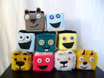 Peluches cubique by Emillye