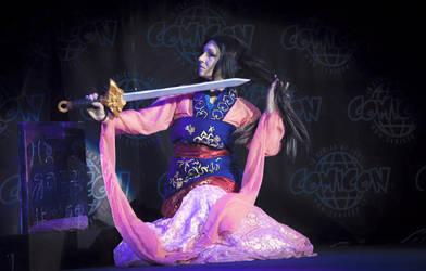 Mulan - disney fairytale doll by FrancescaMisa