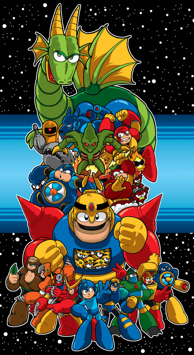 Mega Man 2 poster by Thormeister