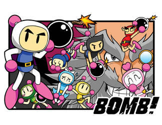 Bomberman poster dev by Thormeister