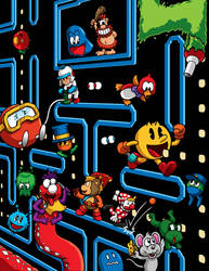 Old School Gamer Magazine cover 3 by Thormeister