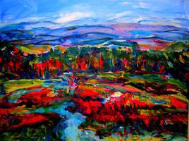 Autumn Land by LaurieLefebvre