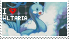 Altaria Stamp by StrawberrieMew
