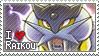 Raikou Stamp by StrawberrieMew