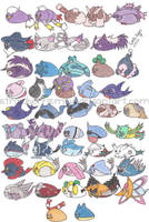 Mameshiba Pokemon Project 11 by StrawberrieMew