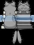 [P2U] Cat Bookmark Base by xX-LamiaLuna-Xx