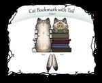 [P2U] Cat Bookmark - Color I by xX-LamiaLuna-Xx