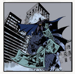 BATMAN IN GOTHAN COLOR 2 by Velmitrax