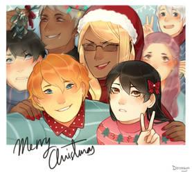 merry christmas! by AshitaMaya