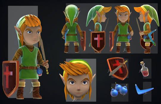 Link NES by Efraimrdz