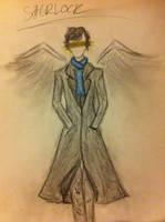 Sherlock angel by Lumicat12