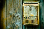 half-closed mailbox by S-t-r-a-n-g-e