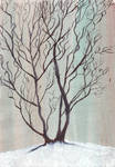 Winter Tree by Zunka-Elyon