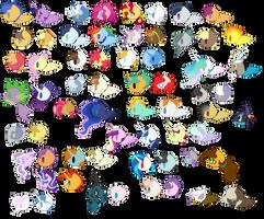 Ultimate Next Gen Guide - Characters - Base - F2U by Owl-ClockWork