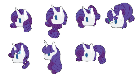 Mlp Rarity Favourites By Mlpgalaxycake On Deviantart