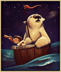 Sailing by Zakeno