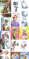 Upsettingly large doodle dump by Zakeno