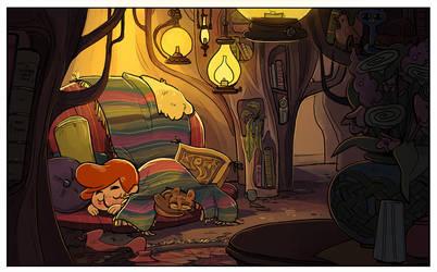 Elliot's Room by Zakeno