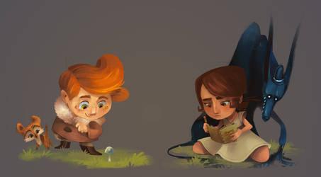 Elliot and Emily by Zakeno