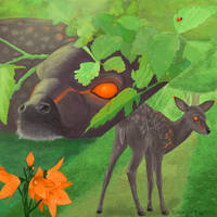 Little secrets of a big forest by KanaGo