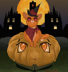 More orange than a Halloween pumpkin (2) by KanaGo