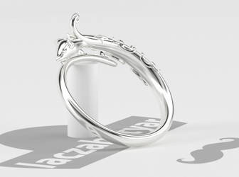 Serperior Wrap Ring by laczabetyar