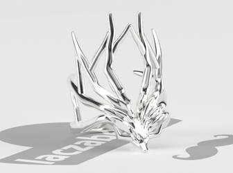 Xerneas Antlers Ring by laczabetyar