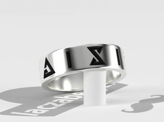Witcher Signs Ring by laczabetyar
