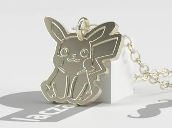 Pikachu Pendant by laczabetyar