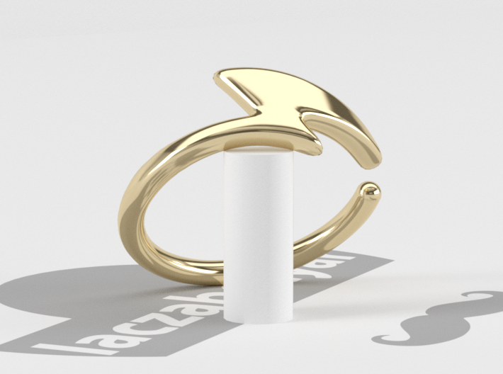 Raichu Tail Ring by laczabetyar