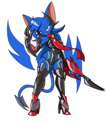 Koumori QT PI (Giada's Greatest weapon RP) by Cliffside-Koumori