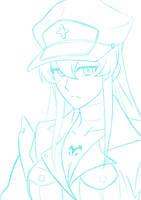 Esdeath sketch by DemoonLink