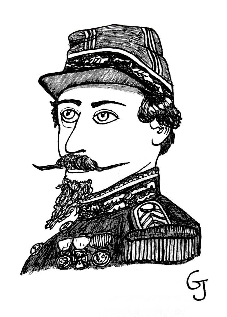 Inktober2018 #31 - Napoleon III by JOSGUI