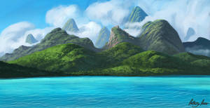 Island by AnthonyAvon