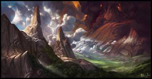 Serenity Valley (Commission) by AnthonyAvon
