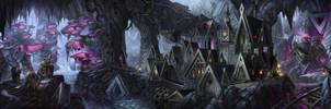 Dwarf Realm by AnthonyAvon