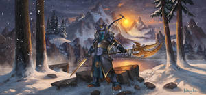Master of the Fjord by AnthonyAvon