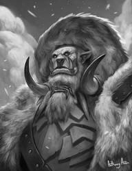 Frostwolf Orc by AnthonyAvon