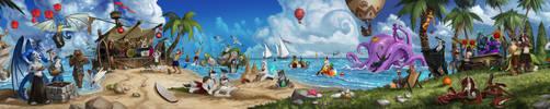 SUMMER BEACH PARTY YEAH!!! by AnthonyAvon