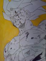 Goku Super Saiyan by Daisuke-Dragneel