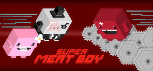 Trixel Meat Boy by mdk7