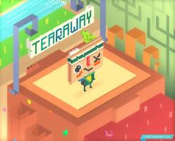 Trixel Tearaway by mdk7
