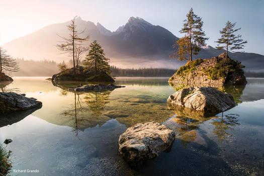 Alpensee by RichardGrando