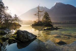 Morning Lake by RichardGrando