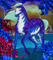 Zora the Farsian Wild Horse by TyParsec