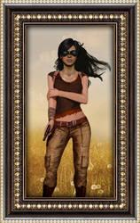 Chloe, The Adventurer by Shrantellatessa