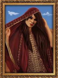 Chloe, The Oriental Lady by Shrantellatessa